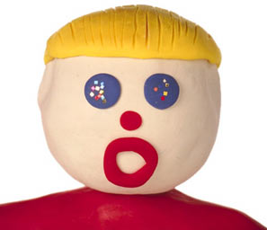 Mr. Bill Gets Ready for his Close-Up