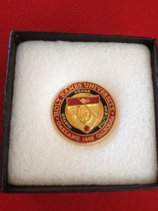 Five-year pin
