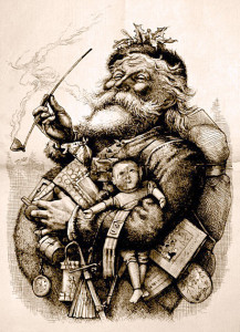 Merry Old Santa, by Thomas Nast